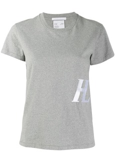 Helmut Lang monogram-embroidered T-shirt