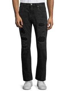 Helmut Lang MR 87 Destroyed Slim-Fit Jeans