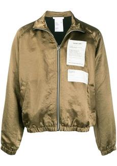 Helmut Lang multi-patch high-neck jacket