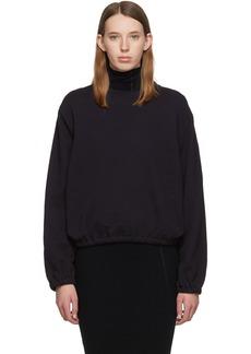 Helmut Lang Navy Vintage Terry Sweatshirt