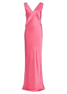 Helmut Lang Neon Sash Gown