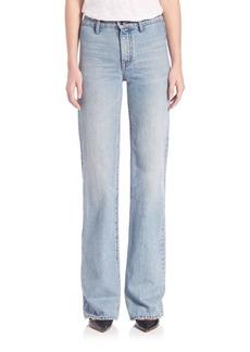 Helmut Lang No-Pocket High-Rise Jeans