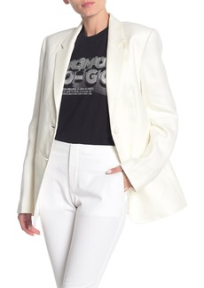 Helmut Lang Notch Lapel Two Button Blazer