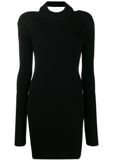 Helmut Lang open back dress