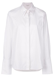 Helmut Lang oversized collar shirt