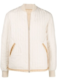 Helmut Lang padded bomber jacket