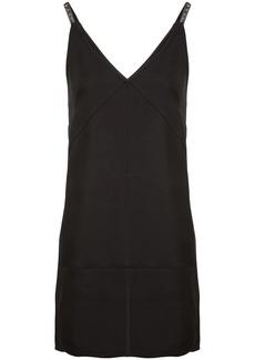 Helmut Lang panelled mini dress
