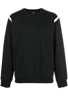 Helmut Lang panelled sleeve sweatshirt