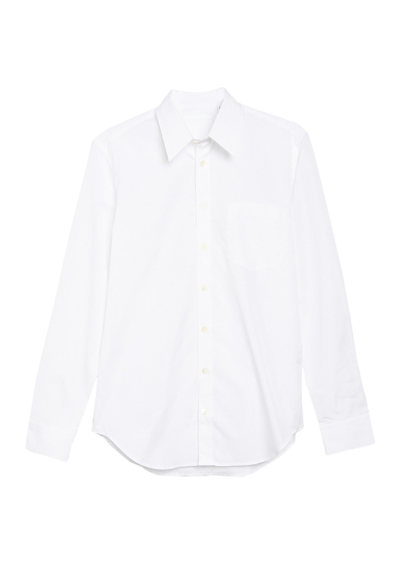 Helmut Lang Patched Button-Down Shirt