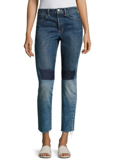 Helmut Lang Patchwork Highrise Jeans