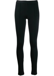 Helmut Lang piped leggings