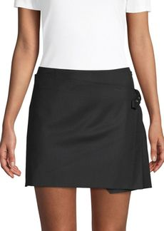 Helmut Lang Pleated Mini Skirt