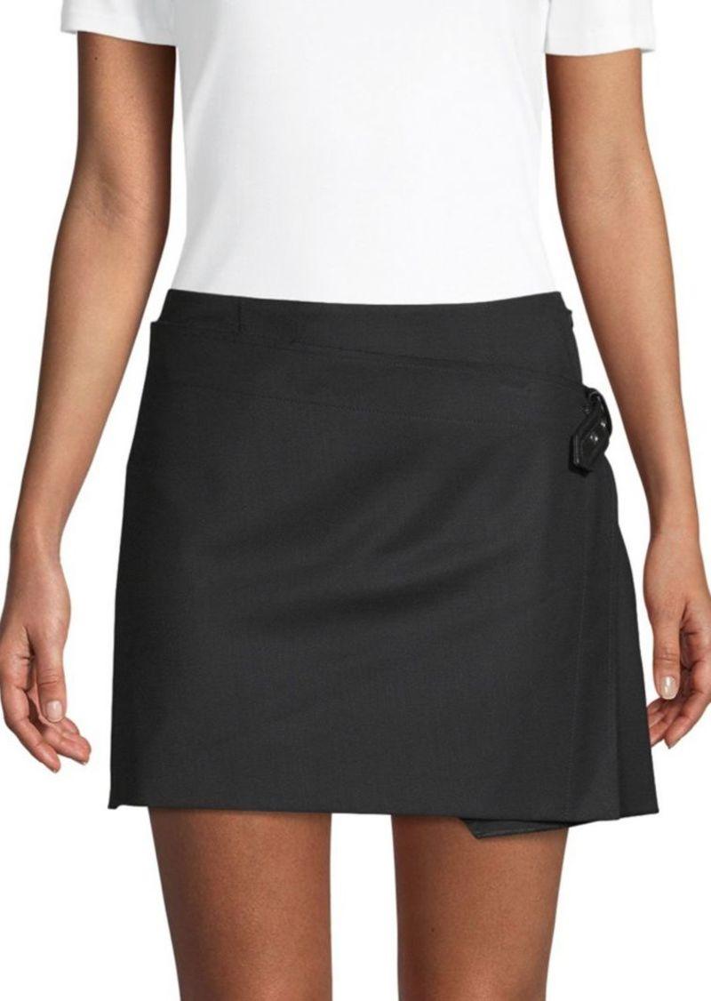 6f70c5c642ea Helmut Lang Pleated Mini Skirt