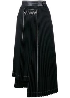 Helmut Lang pleated skirt