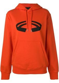 Helmut Lang printed hoodie