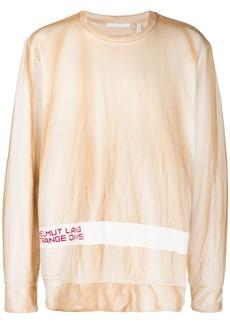 Helmut Lang printed sweatshirt
