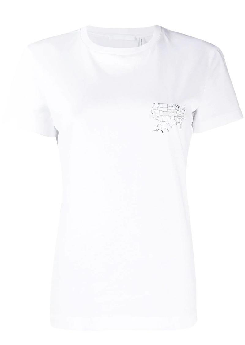 Helmut Lang printed T-shirt