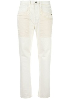 Helmut Lang raw edge jeans