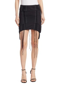Helmut Lang Re-Edition Aviator Mini Skirt