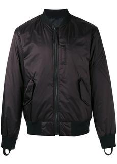 Helmut Lang reflective reversible bomber jacket