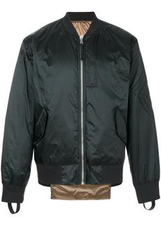 Helmut Lang reversible bomber jacket