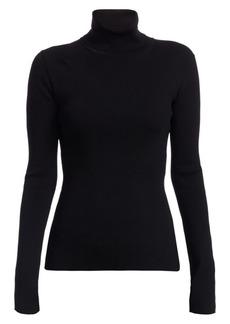 Helmut Lang Rib-Knit Turtleneck Sweater