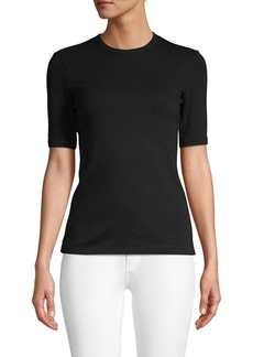 Helmut Lang Ribbed Cotton Tee