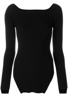 Helmut Lang ribbed knit jumper