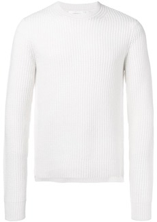 Helmut Lang ribbed knit sweater