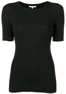 Helmut Lang ribbed skinny T-shirt