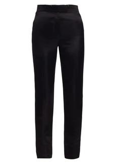 Helmut Lang Satin Straight-Leg Trousers