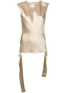 Helmut Lang satin tank top