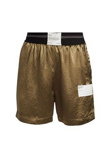 Helmut Lang Satin Warm-Up Shorts