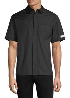 Helmut Lang Seam-Stitched Pocket Shirt