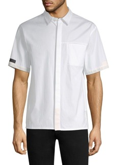 Helmut Lang Seam-Stitched Pocket Shirt