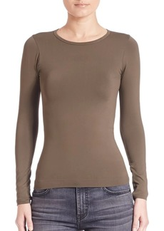 Helmut Lang Seamless Long Sleeve Tee