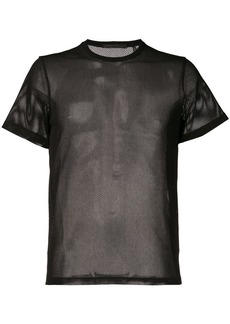 Helmut Lang sheer net T-shirt