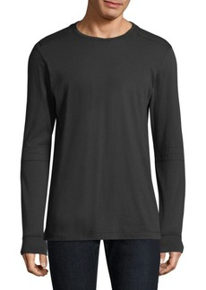 Helmut Lang Shoulder Pad Long Sleeve Tee