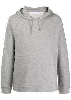 Helmut Lang side slit hoodie