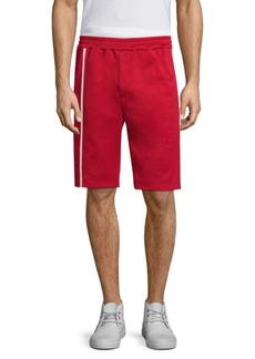 Helmut Lang Side-Stripe Track Shorts
