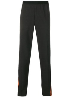 Helmut Lang side stripe trousers