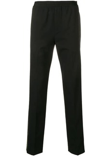 Helmut Lang side striped trousers
