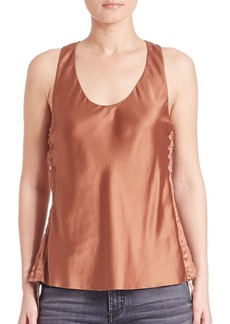 Helmut Lang Silk Tank Top