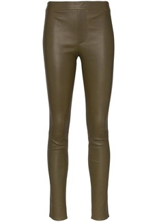 Helmut Lang skinny leather leggings