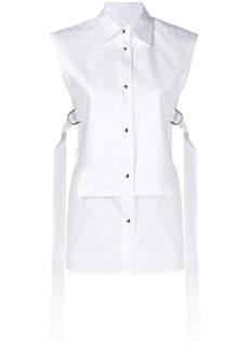 Helmut Lang sleeveless bib shirt