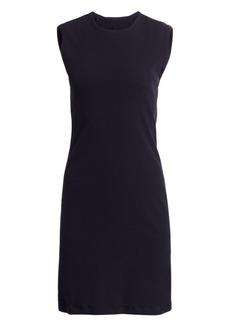 Helmut Lang Sleeveless Cotton Sheath Dress