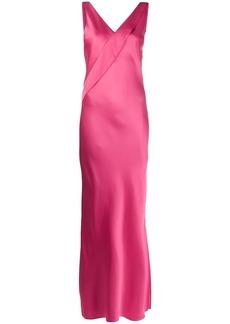 Helmut Lang sleeveless long gown