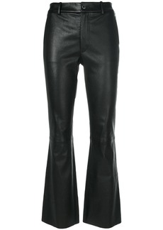 Helmut Lang slim cropped trousers
