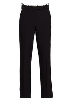 Helmut Lang Slim-Fit Viscose Trousers