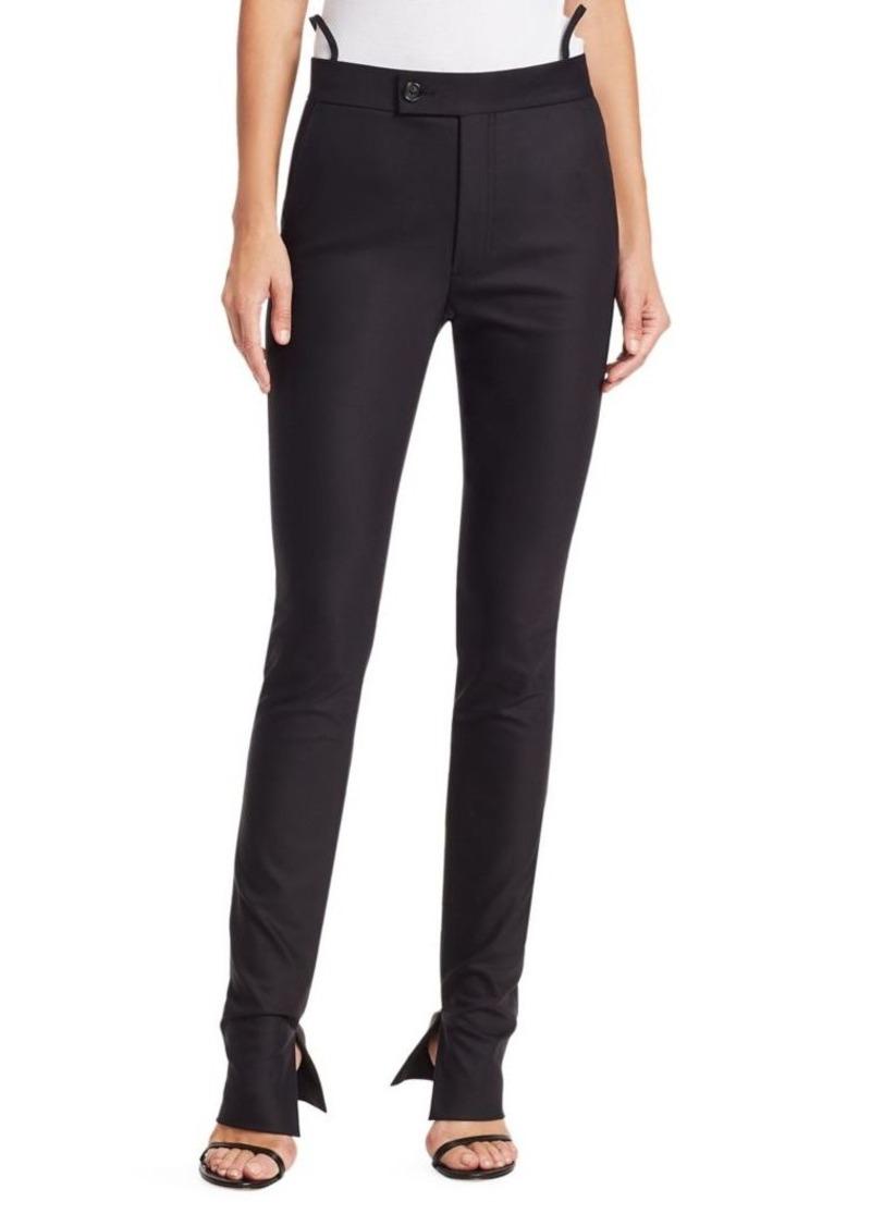 Helmut Lang Slim Leg Suit Trousers